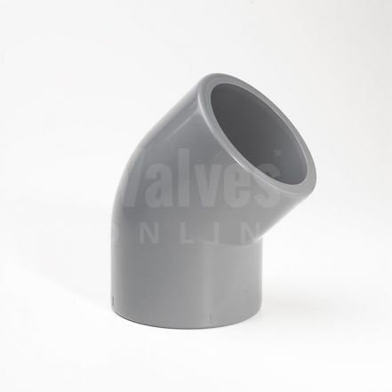 ABS 45° Plain Inch Elbow