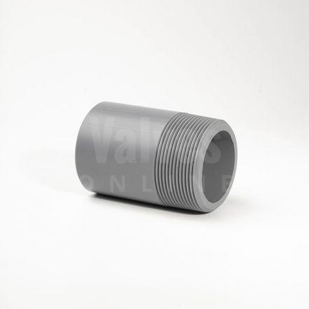 ABS Plain Inch x Male Threaded Barrel Nipple