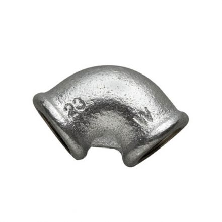 Galvanised Malleable Iron Female / Female 90° Elbow