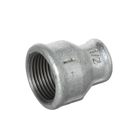 Galvanised Malleable Iron Female Reducing Socket