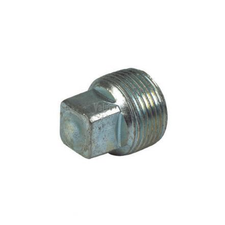Galvanised Malleable Iron Male Plain Blanking Plug