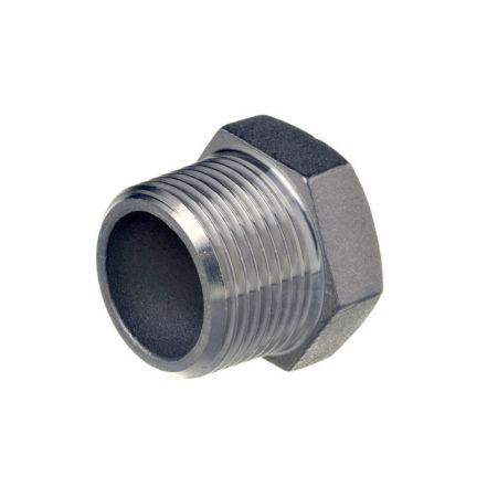 Stainless Steel Male Hex Plug