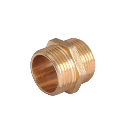Brass Hex Nipple Fitting