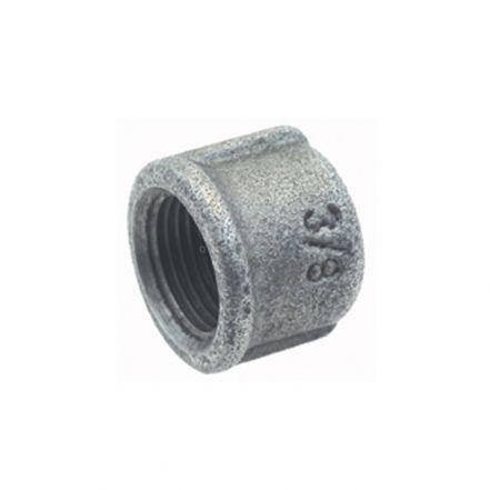 Galvanised Malleable Iron Female Round Head Cap