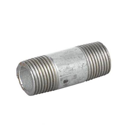 Galvanised Malleable Iron Male Barrel Nipple