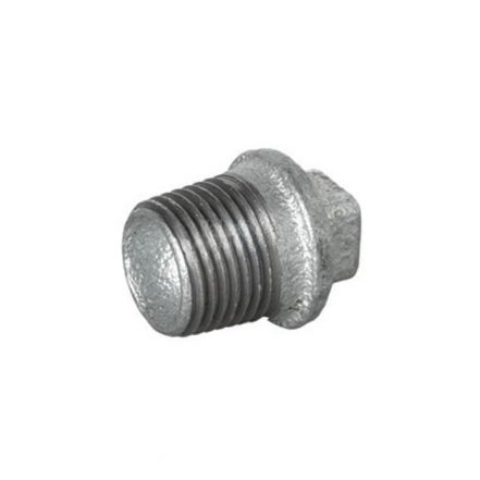 Galvanised Malleable Iron Male Blanking Plug