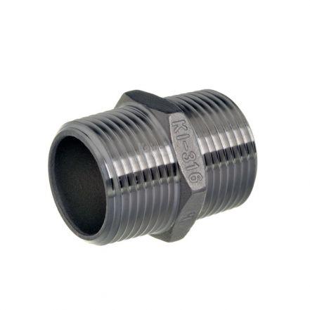 Stainless Steel Standard Hex Nipple